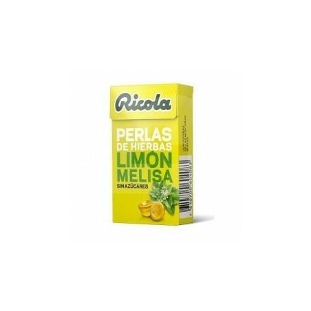 Comprar RICOLA PERLAS SIN AZUCAR LIMON 25 G