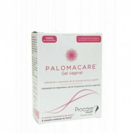 Comprar PALOMACARE GEL VAGINAL MONODOSIS 6 CANULAS 5 ML