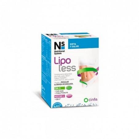 Comprar NS LIPOLESS 60 COMPRIMIDOS