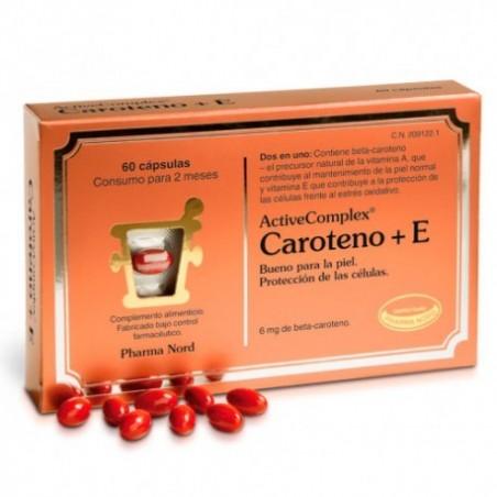 Comprar ACTIVECOMPLEX® CAROTENO + E 60 CÁPSULAS