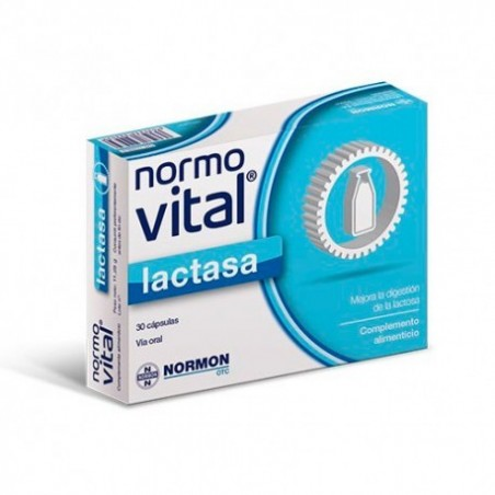 Comprar NORMOVITAL LACTASA 30 CÁPSULAS NORMON
