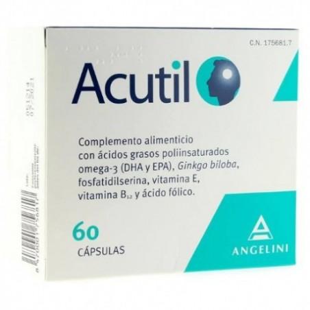 Comprar ACUTIL 60 CÁPSULAS