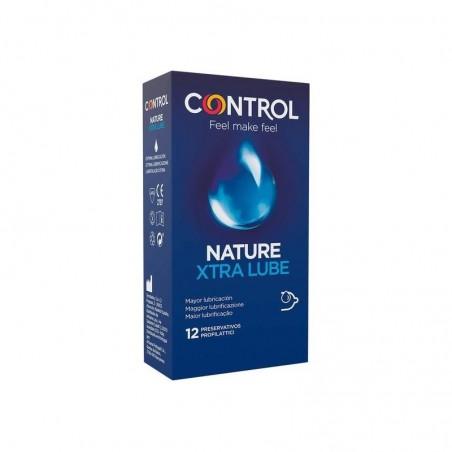 Comprar CONTROL PRESERVATIVOS NATURE EXTRA LUBE 12 UNIDADES