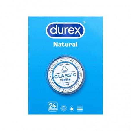 Comprar DUREX PRESERVATIVOS NATURAL CLASSIC 24 UNIDADES