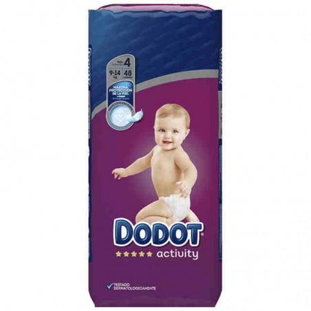 Comprar DODOT ACTIVITY T4 ( 9-14 KG) 48 UDS