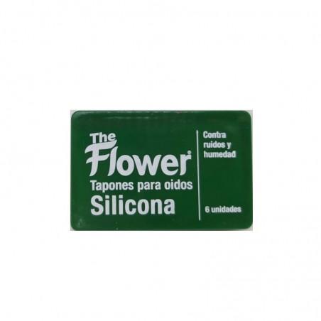 Comprar THE FLOWER TAPONES PARA OIDOS DE SILICONA 6 UNIDADES