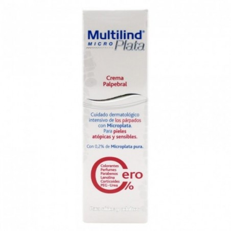 Comprar MULTILIND MICROPLATA CREMA PALPEBRAL 15 ML