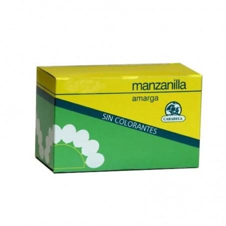 Comprar MANZANILLA AMARGA CARABELA 15 BOLSAS MACOESA