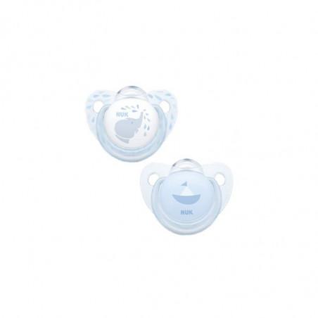 Comprar CHUPETE SILICONA BLUE T-1 2 U