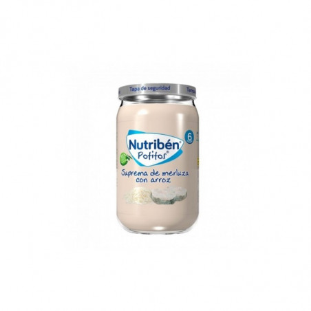Comprar NUTRIBÉN SUPREMA DE MERLUZA CON ARROZ 235 G