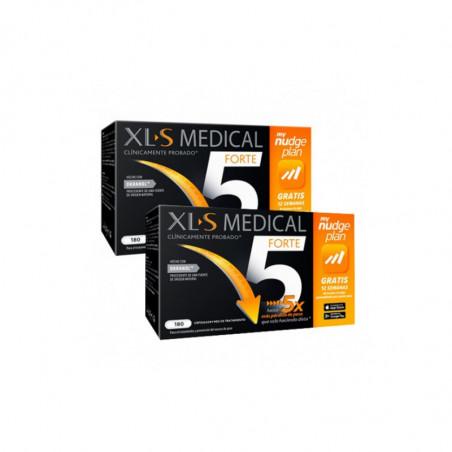 Comprar XLS MEDICAL FORTE 5 NUDGE DUPLO 2 X 180 CÁPSULAS