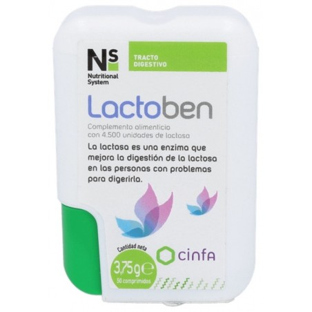 Comprar N S LACTOBEN DISP 50 COMP