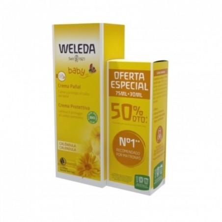 Comprar WELEDA CREMA PAÑAL 75 ML + 30 ML