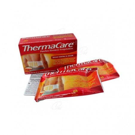 Comprar THERMACARE ZONA LUMBAR Y CADERA PARCHES 4 UDS