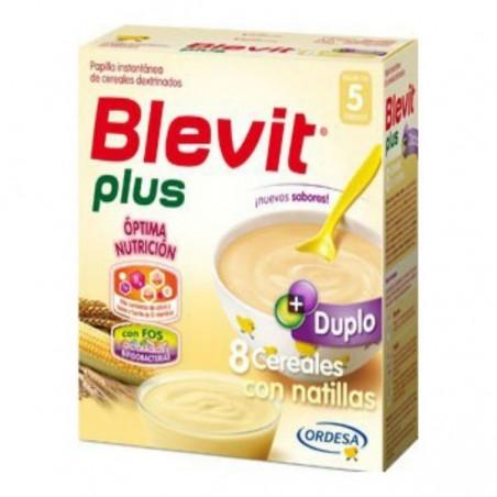 Comprar BLEVIT PLUS DUPLO 8 CEREALES CON NATILLAS 600 G