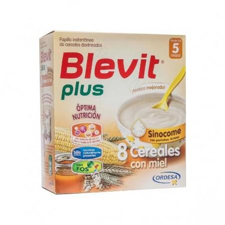 Comprar BLEVIT PLUS DUPLO 8 CEREALES BIZCOCHO Y NARANJA 600 G