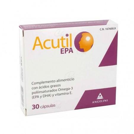 Comprar ACUTIL EPA 30 CAPSULAS