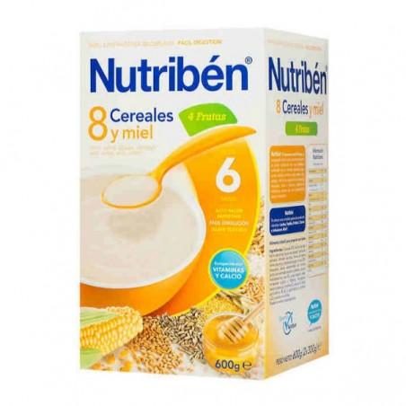 Comprar 8 CEREALES Y MIEL 4 FRUTAS NUTRIBÉN 600 G