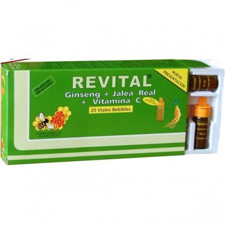 Comprar REVITAL GINSENSG + JALEA REAL + VITAMINA C 20 AMP