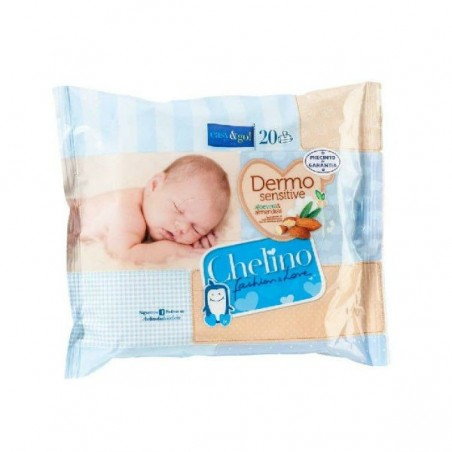 Comprar CHELINO FASHION & LOVE TOALLITAS INFANTILES 20 UDS