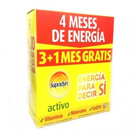Comprar SUPRADYN ACTIVO 90 COMPRIMIDOS + SUPRADYN ACTIVO 30 COMP