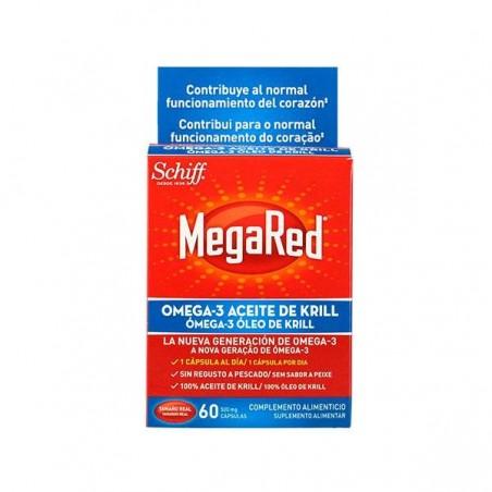 Comprar MEGARED 500 OMEGA 3 ACEITE DE KRILL 60 CAPS