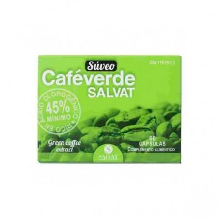 Comprar SUVEO CAFE VERDE SALVAT 60 CAPS