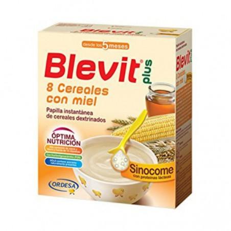 Comprar BLEVIT PLUS SINOCOME 8 CEREALES CON MIEL 600 G