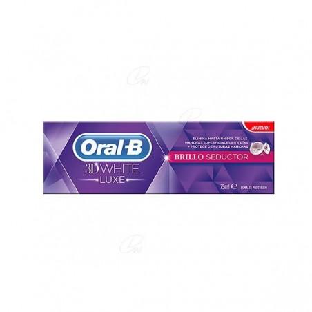 Comprar ORAL B 3DWHITE LUXE BRILLO SEDUCTOR 75 ML