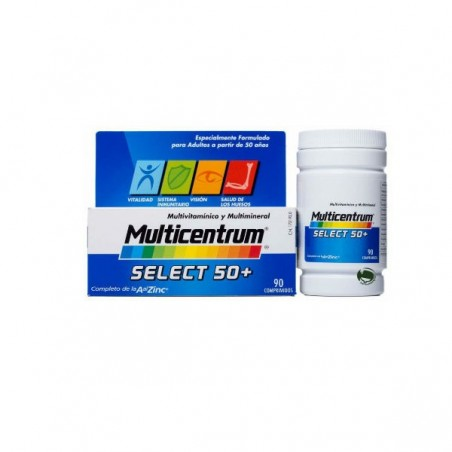 Comprar MULTICENTRUM SELECT 50+90 COMP