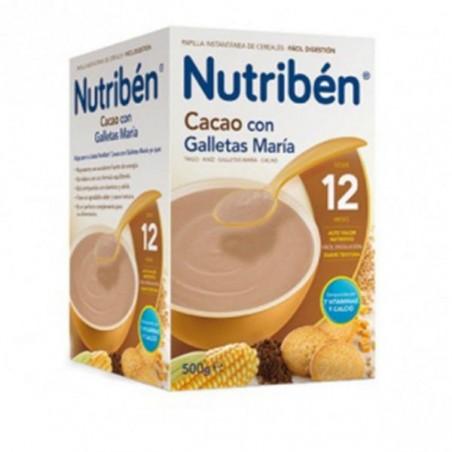 Comprar NUTRIBÉN CACAO CON GALLETAS MARÍA 500 G