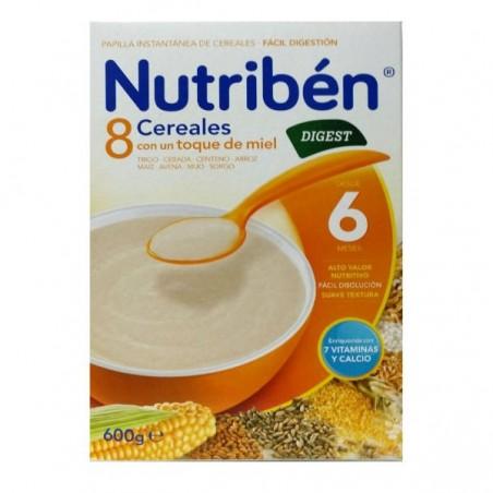 Comprar 8 CEREALES Y MIEL DIGEST NUTRIBÉN 600 G