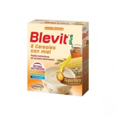 Comprar BLEVIT PLUS SUPERFIBRA 8 CEREALES Y MIEL 600 G