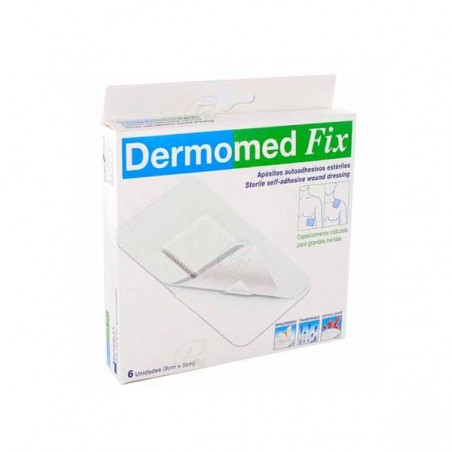 Comprar DERMOMED FIX 9 CM x 10 CM 6 UDS