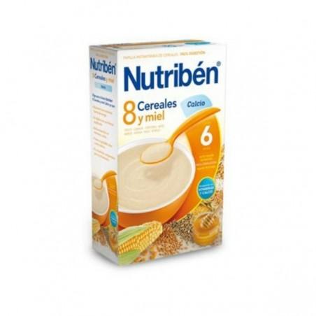 Comprar 8 CEREALES Y MIEL CALCIO NUTRIBÉN 300 G