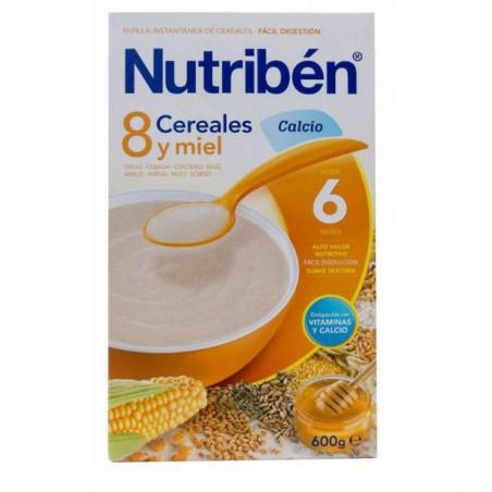Comprar 8 CEREALES Y MIEL CALCIO NUTRIBÉN 600 G