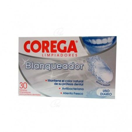 Comprar COREGA BLANQUEADOR LIMPIADOR 30 TAB