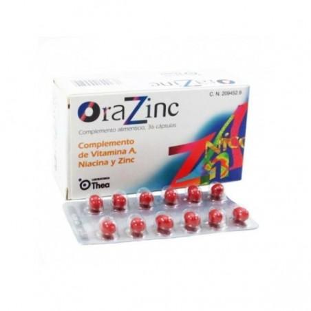Comprar ORAZINC 36 CAPS