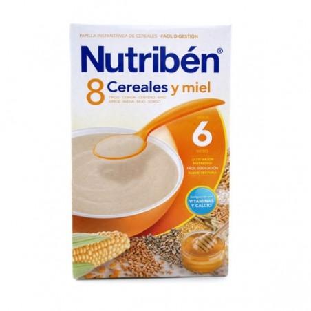 Comprar 8 CEREALES Y MIEL NUTRIBÉN 600 G