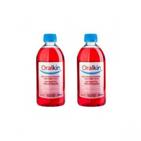 Comprar DUPLO ORALKIN ENJUAGUE BUCAL 2 x 500 ML
