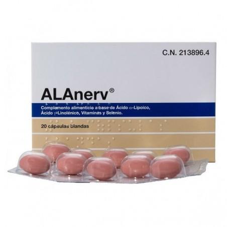 Comprar ALANERV 20 CÁPSULAS BLANDAS