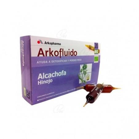 Comprar ALCACHOFA E HINOJO ARKO 20 AMPOLLAS BEBIBLES