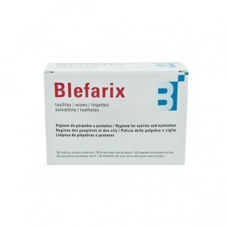 Comprar BLEFARIX TOALLITAS 2.5 ML 20 UNIDOSIS