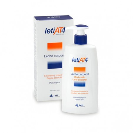 Comprar LETI AT-4 LECHE CORPORAL 250 ML