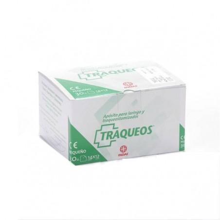 Comprar TRAQUEOS APÓSITO LARINGO TRAQUEOTOMIZADO 14 x 12 CM