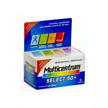 Comprar MULTICENTRUM SELECT 50+ 30 COMP