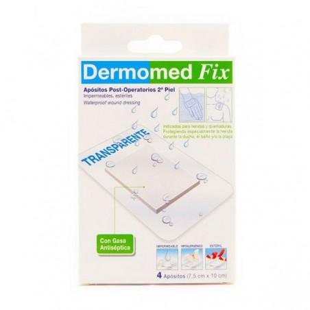 Comprar DERMOMED FIX SEGUNDA PIEL 10 CM x 7.5 CM 4 UDS