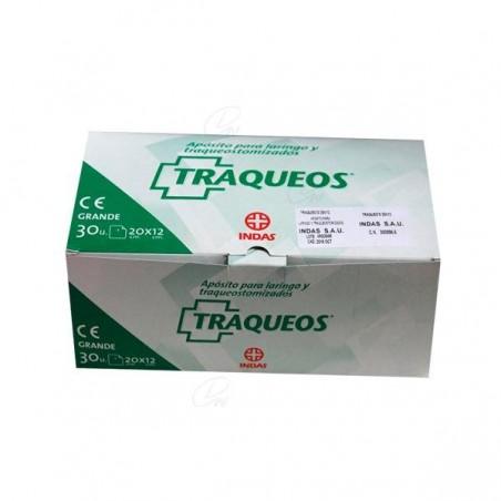 Comprar TRAQUEOS APÓSITO LARINGO TRAQUEOTOMIZADO 20 x 12 CM