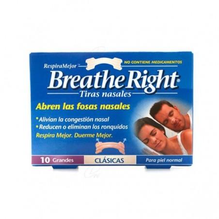Comprar TIRA NASAL BREATHE RIGHT T - GDE 10 UDS