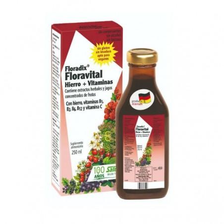 Comprar FLORADIX FLORAVITAL 250ML